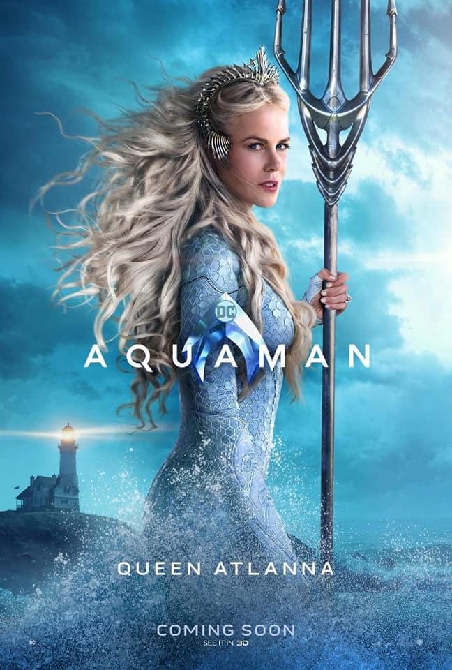 Aquaman – Divulgados novos pôsteres individuais dos personagens 19
