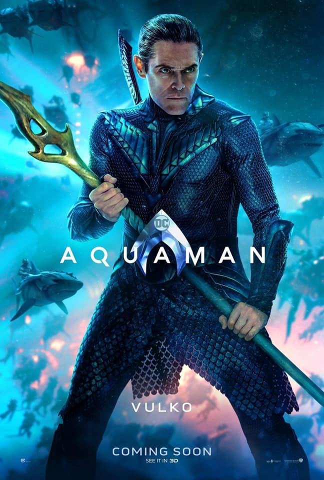 Aquaman – Divulgados novos pôsteres individuais dos personagens 22