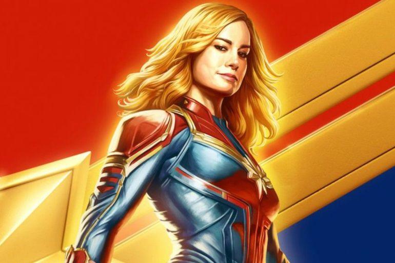 Divulgado novo pôster de Capitã Marvel 24