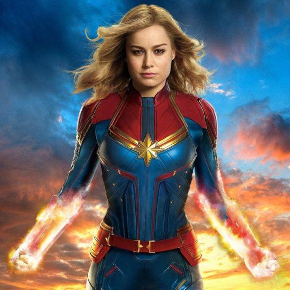 Capitã Marvel ultrapassa US$ 800 milhões no mundo e supera Mulher-Maravilha 33