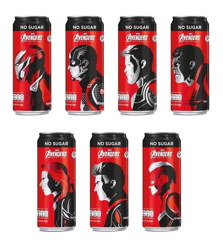 Heróis de Vingadores: Ultimato irão estampar as latas da Coca-Cola! 17