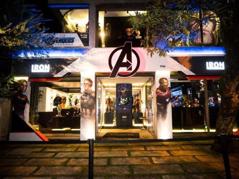 """Exposição Avengers em São Paulo: """"Avengers: EndGame Expo"""" reúne estátuas em miniatura e em tamanho real dos personagens de Vingadores Ultimato 16"""
