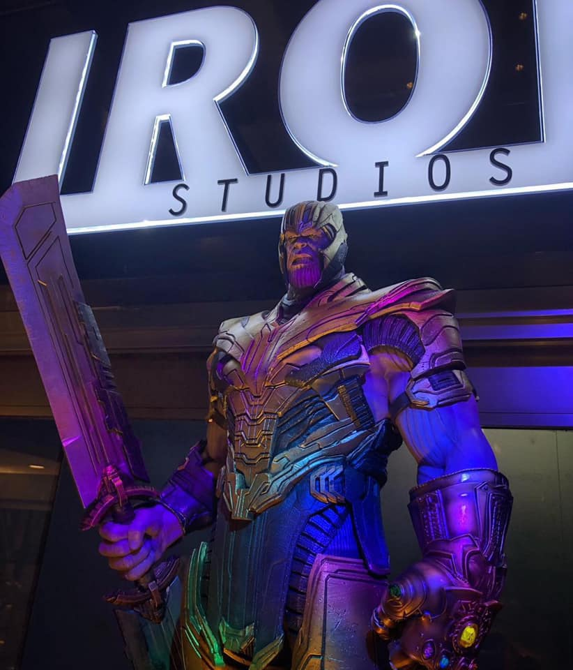 """Exposição Avengers em São Paulo: """"Avengers: EndGame Expo"""" reúne estátuas em miniatura e em tamanho real dos personagens de Vingadores Ultimato 28"""