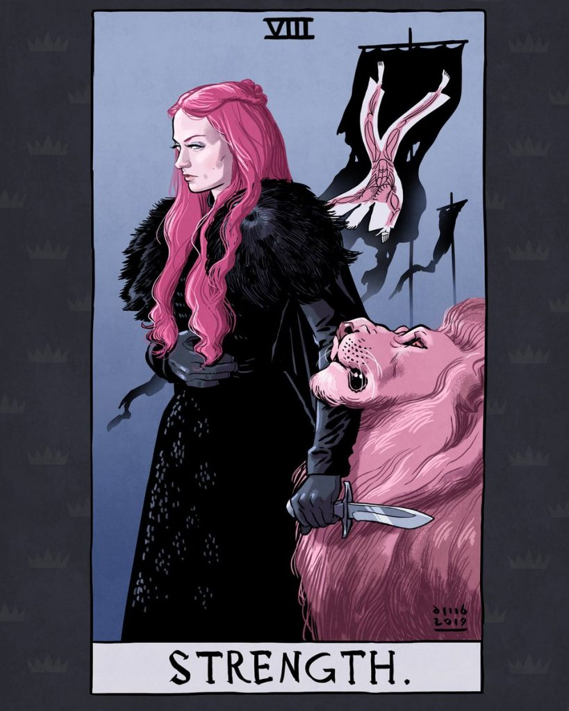 Artista ilustra Tarot incrível de Game of Thrones 35