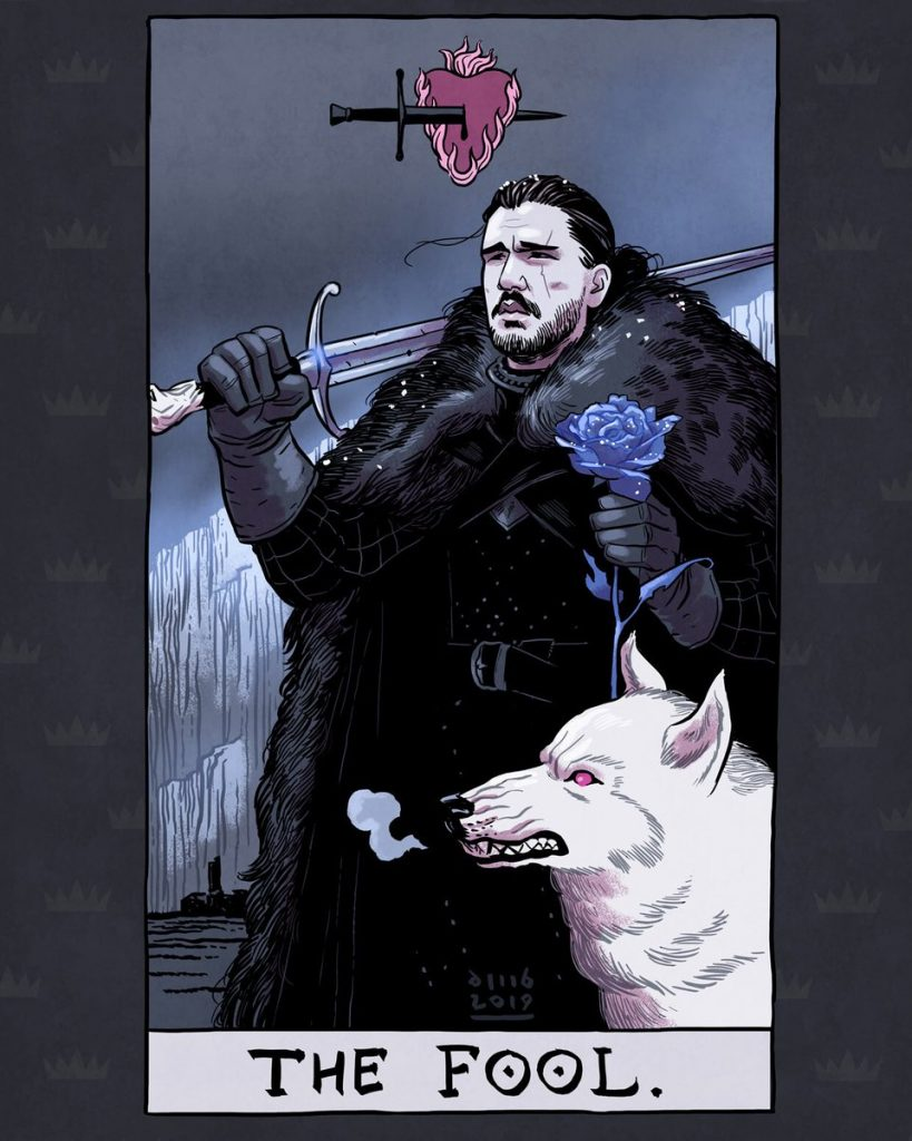 Artista ilustra Tarot incrível de Game of Thrones 20