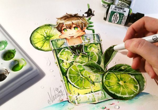 Artista desenha ilustrações fofas e geeks em versão Chibi 22