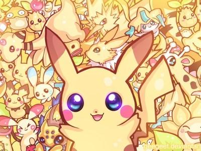 """Poké-party – Artista cria série de imagens mostrando """"festa das cores"""" dos Pokémon! 50"""