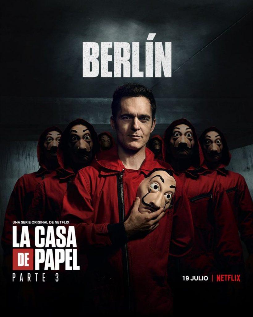 La Casa de Papel: Netflix revela cartazes individuais dos personagens 19