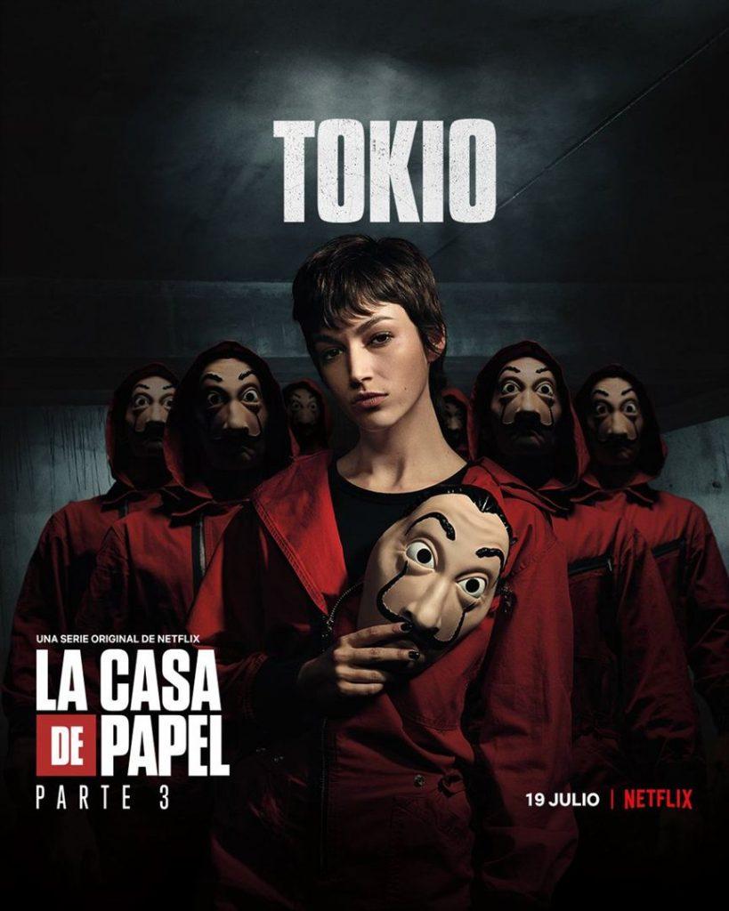La Casa de Papel: Netflix revela cartazes individuais dos personagens 18