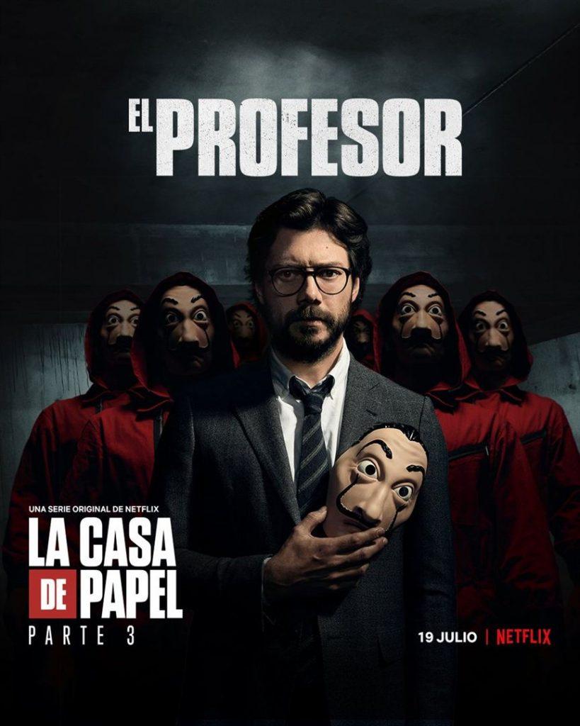 La Casa de Papel: Netflix revela cartazes individuais dos personagens 17