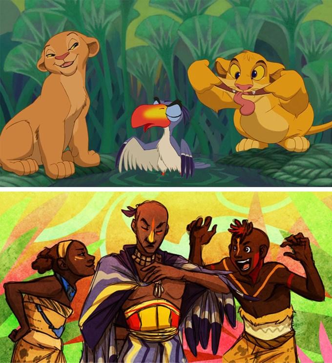 E se os animais da Disney fossem humanos? 17