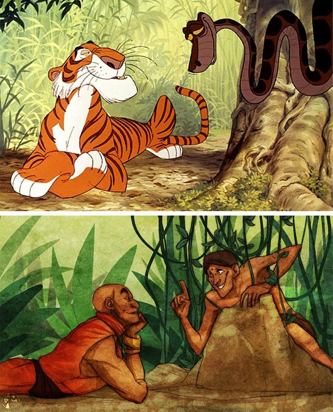 E se os animais da Disney fossem humanos? 19
