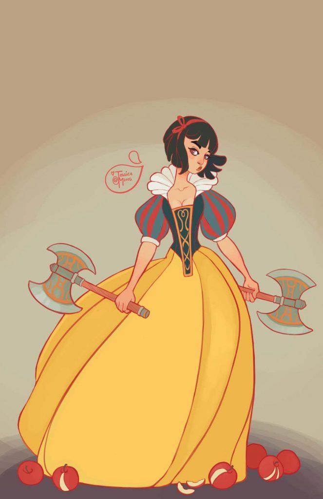 Princesas Disney guerreiras 26