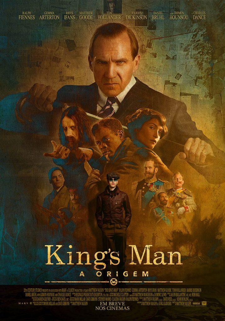 """Confira pôster e trailer de """"King's Man: A Origem"""" 17"""