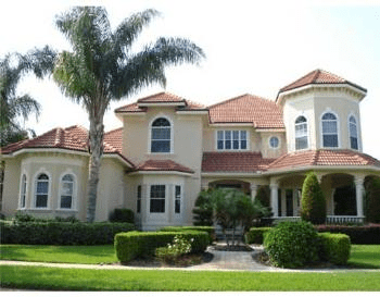 Florida Home Exterior Color Matches Landscape