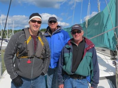 Greg, Dick, and Captain Steve