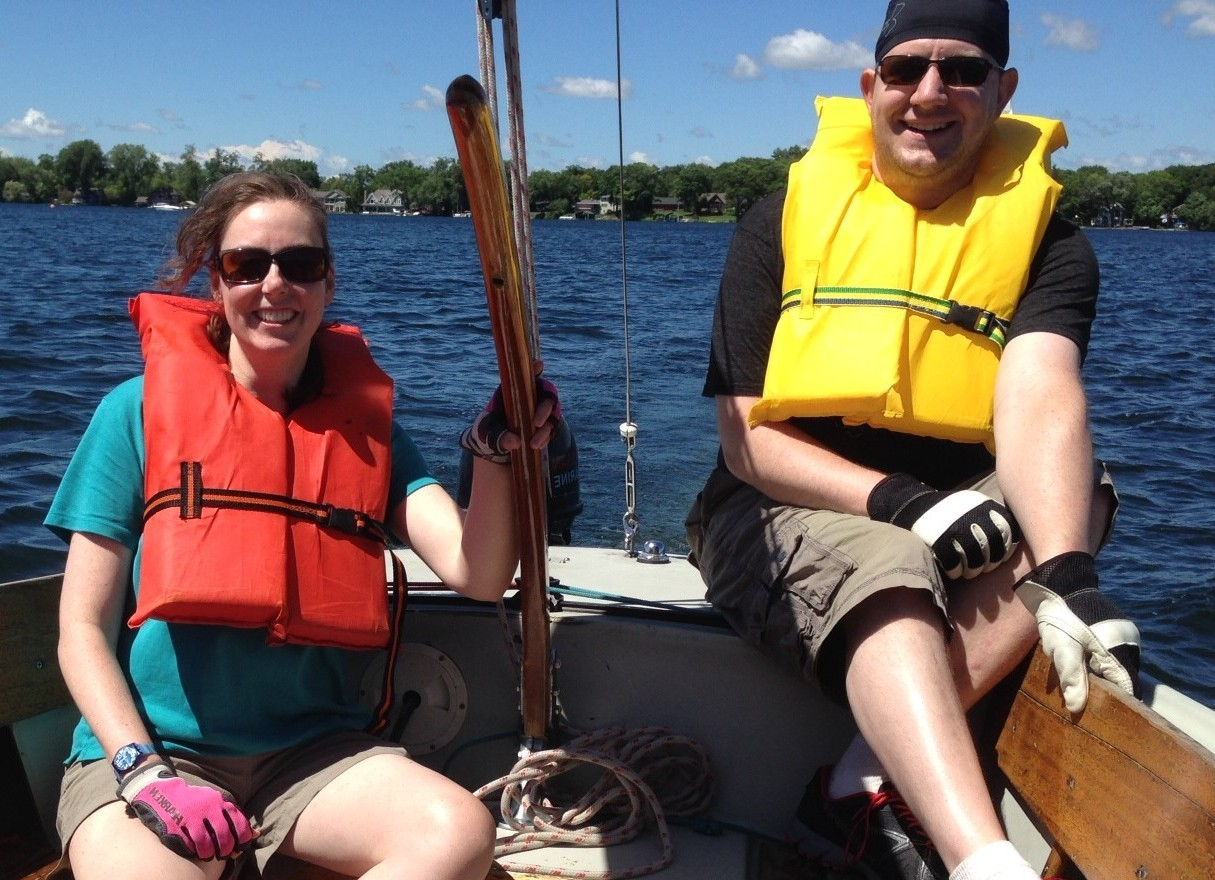 Blog pain and sailing lessons