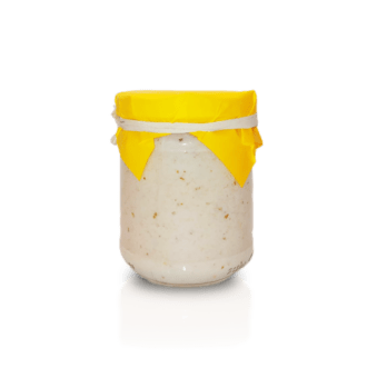 Garlic cream for Sicilian Bruschette