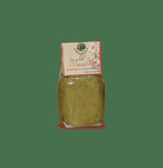 Pasta di Mandorle al Pistacchio