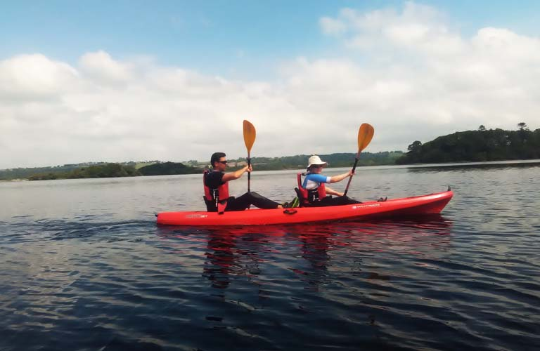Kajaktour Killarney Nationalpark Irland