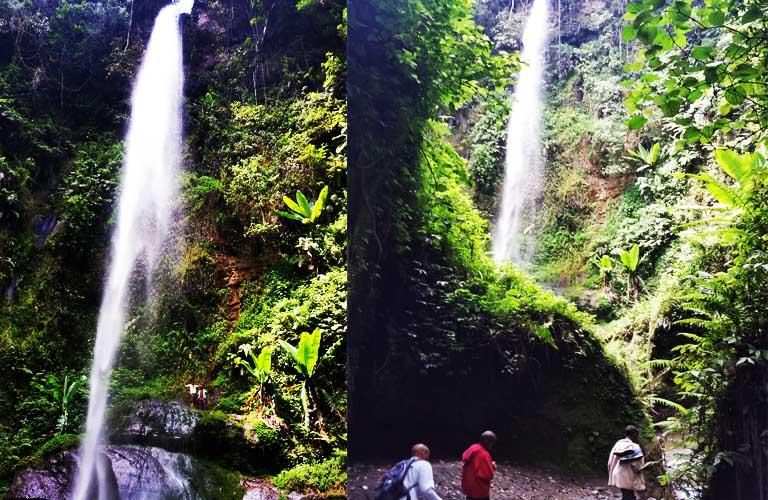 Arusha Wasserfälle Arusha Waterfall Ng'iresi Wasserfälle
