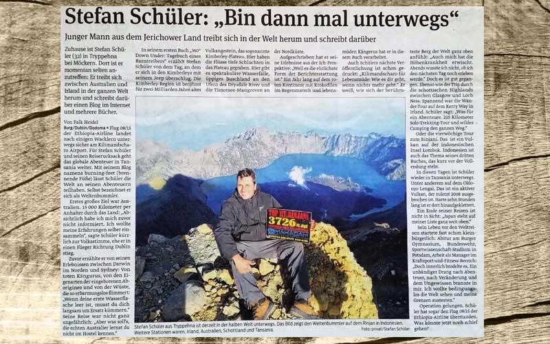 Stefan Schüler Presse Volksstimme