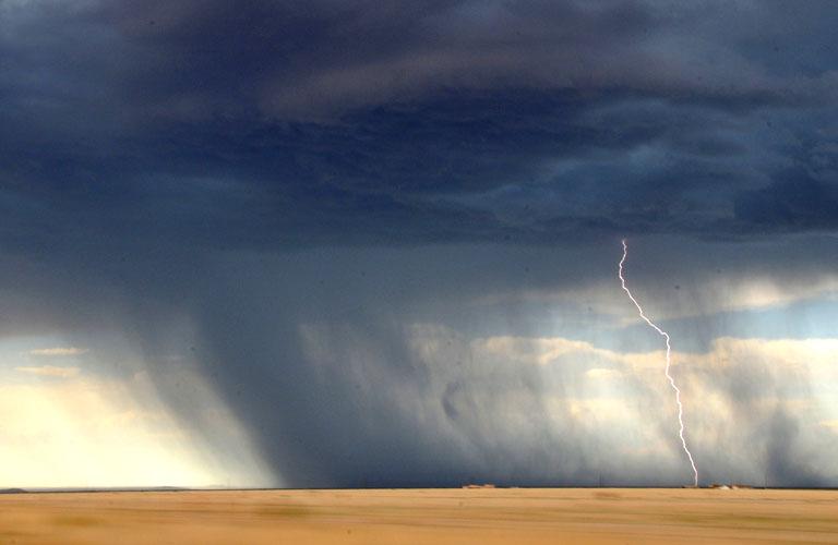 Blitzeinschlag Trekking