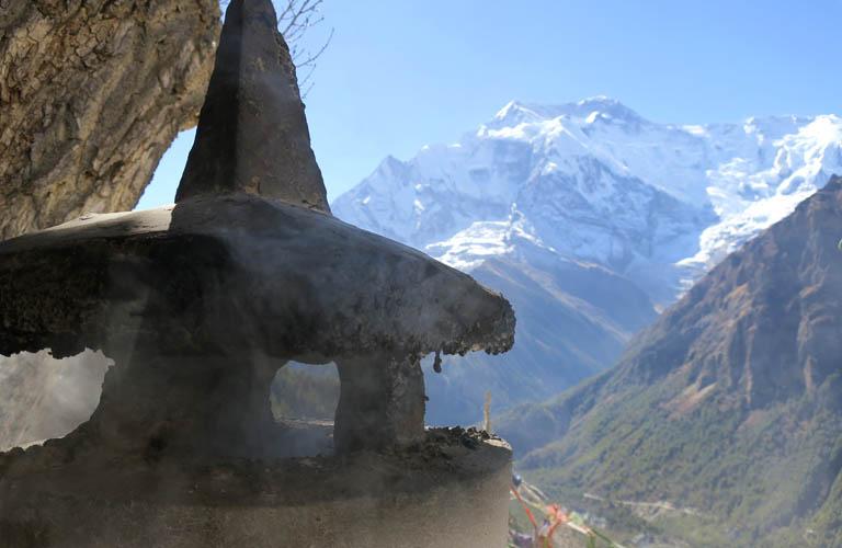 Trekking Annapurna Circuit Trek Nepal Ghyaru