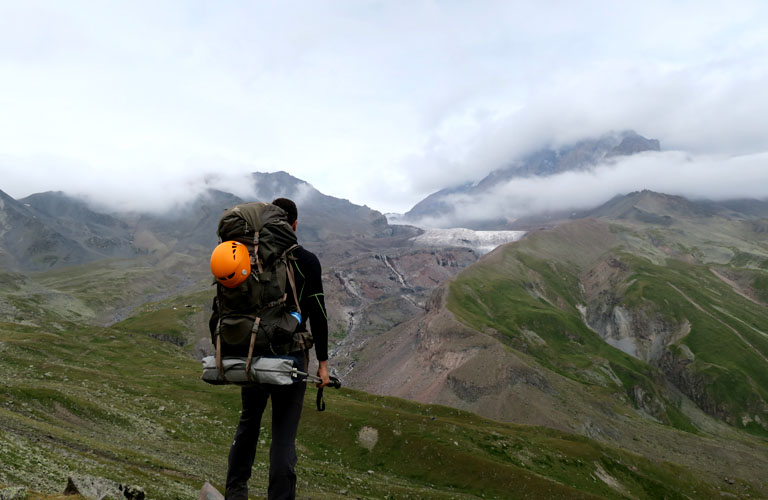 Kasbek Bericht Mount Kazbek Bergsteigen Kaukasus Georgien