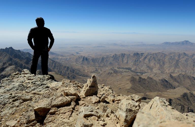 Shir Kuh Bergsteigen Iran Persien Yazd Shirkuh Mountain