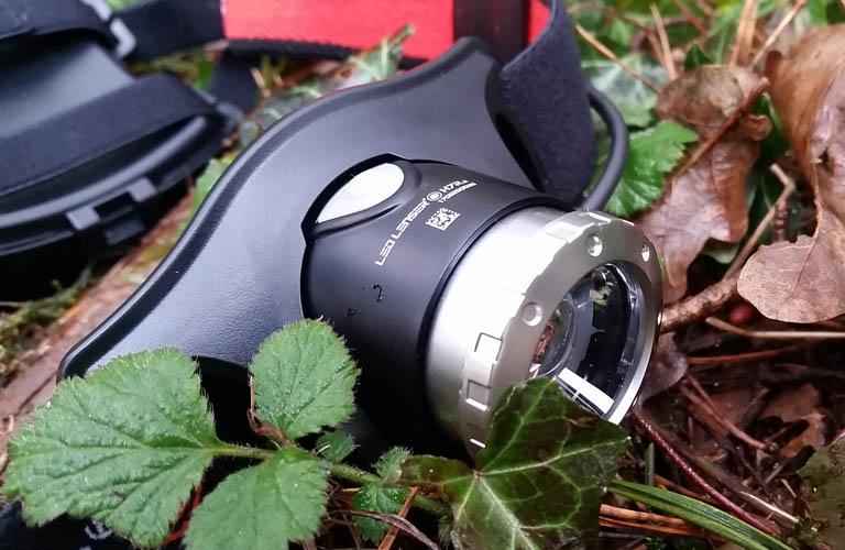 Bergsteigen Led Lenser H7r.2 Stirnlampe wiederaufladbarTest