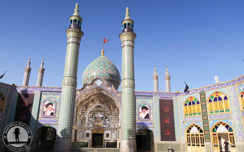 Shrine of Hilal Ibn Ali Maranjab Desert Iran Kashan Isfahan Desert Tour
