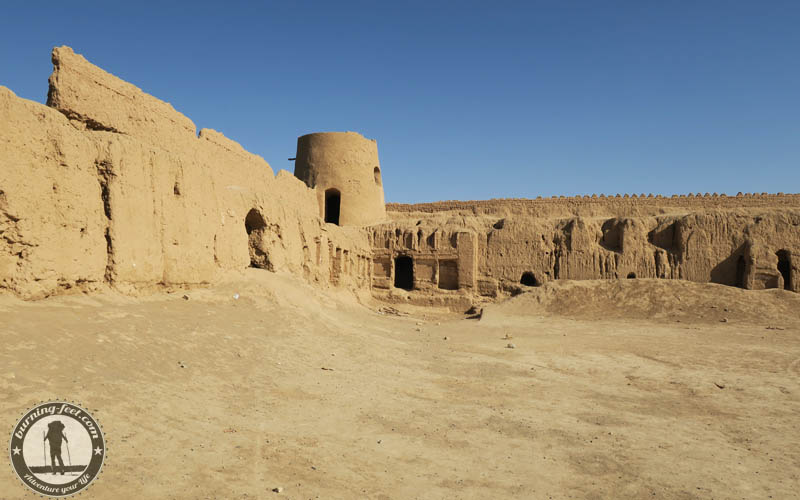 old clay fortress Maranjab Desert Iran Kashan Sehenswürdigkeiten Isfahan Desert Tour
