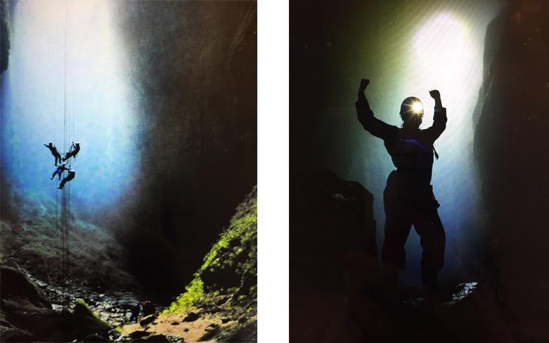 Tour Lost World Neuseeland Waitomo Caves Höhlenklettern Reisebericht