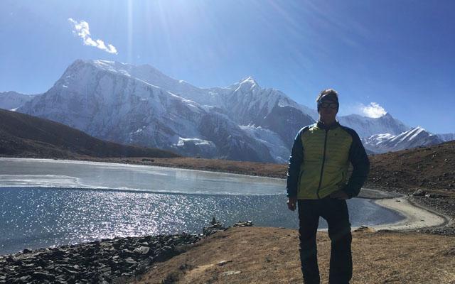 Ice lake Icelake Annapurna Circuit
