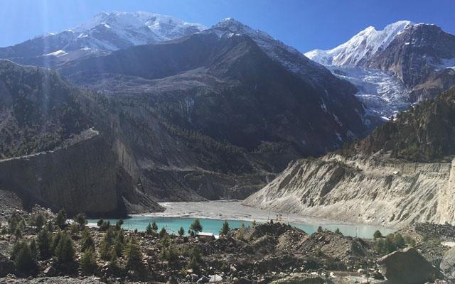 Khangsar Tilicho Lake side trek