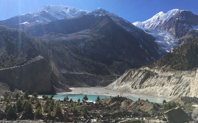 Khangsar Tilicho Lake side trek