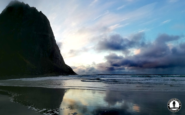 Klavika Beach am Morgen
