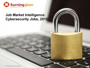 Cover image Cybersecurity Jobs 2015