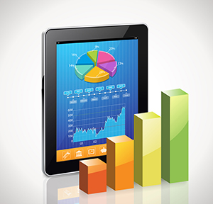 Tablet charts: MERIC uses real-time job data to produce labor market intelligence reports