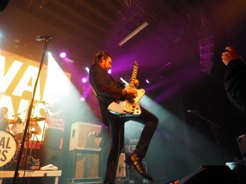 Gitarrist Scott Holiday