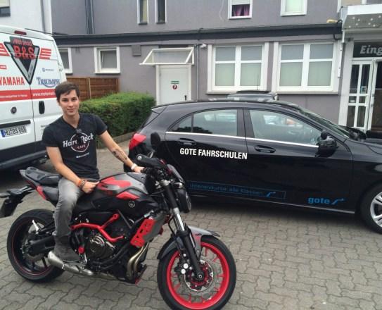 Patrick Kronenberger Yamaha MT-07 Motocage