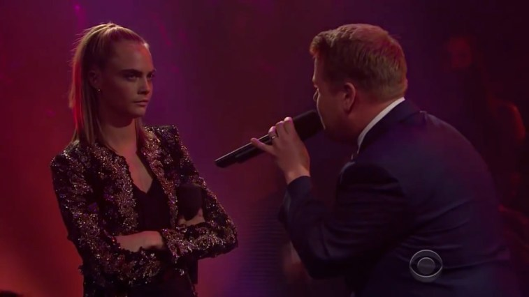 Drop the Mic Cara Delevingne James Franco James Corden
