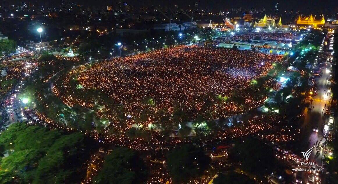 Thailand King celebration funeral bangkok
