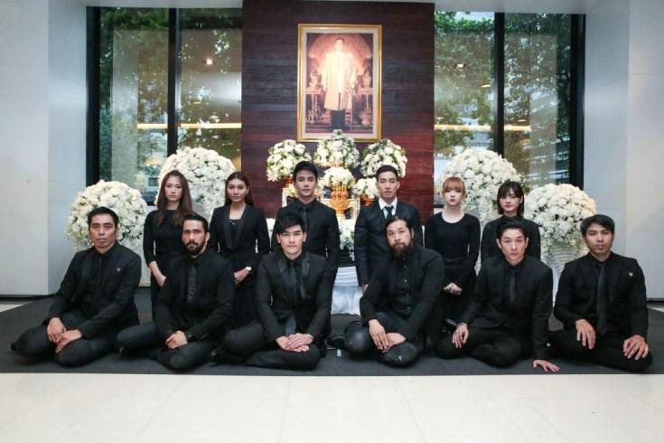 Jannine Weigel GMM Grammy Thailand Trauerfeier