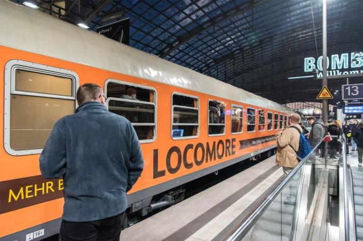 Locomore Zug Deutsche Bahn IC Berlin Hanau Frankfurt