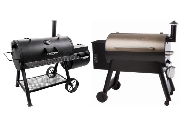 Offset smoker vs pellet smoker