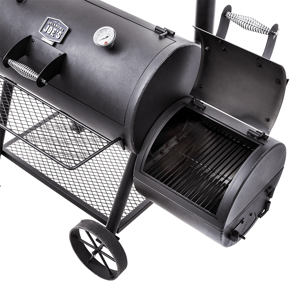 Oklahoma Joe Highland Reverse Flow Offset Smoker 3