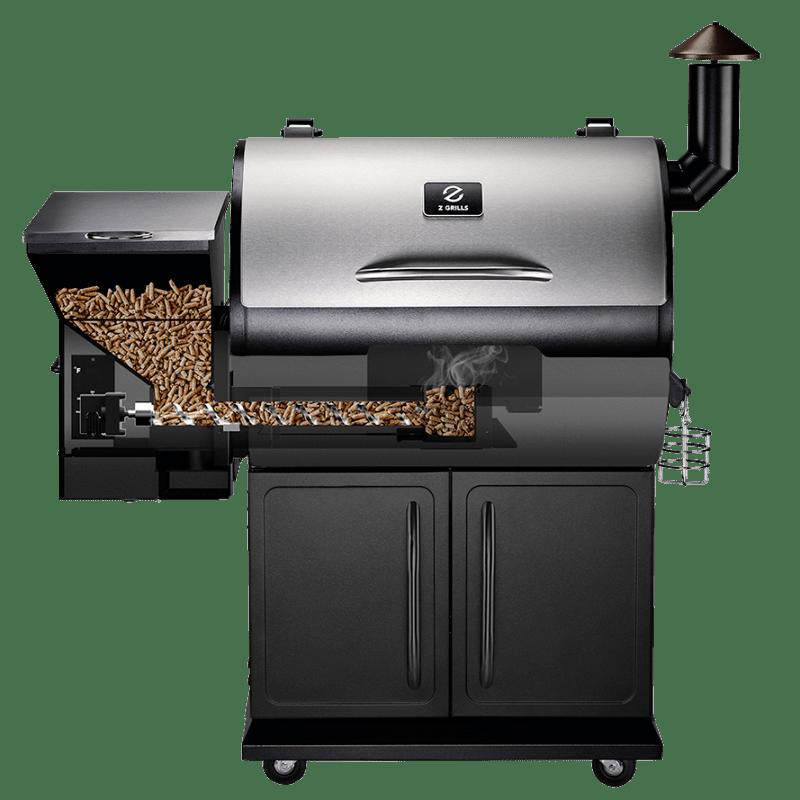 Z Grills Premium 700e Burning Brisket