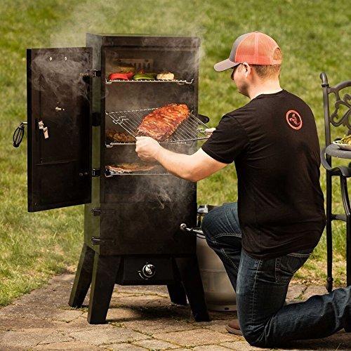 Cuisinart Vertical Gas Smoker